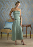 Mint Green Evening Gown Royalty Free Stock Image