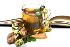 Mint green tea Stock Photo