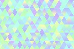 Mint Green Yellow Light Blue Violet Rhomb Colorful Texture Geometric Minimalism royalty free illustration