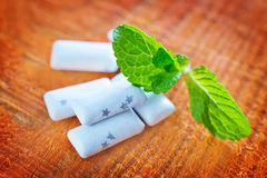 Mint gum Royalty Free Stock Image