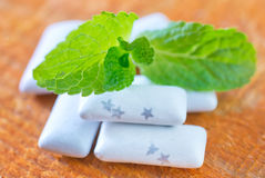 Mint gum Royalty Free Stock Photography