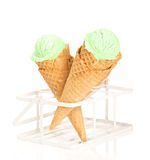 Mint Ice Cream Royalty Free Stock Photos