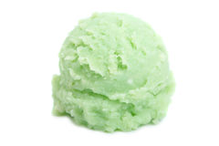 Mint ice cream Stock Photography