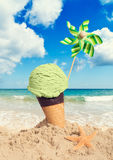 Mint Icecream Royalty Free Stock Photo