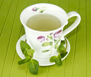 Mint infusion Stock Photo