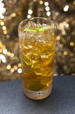 Mint-Julep cocktail Stock Photos