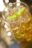 Mint-Julep cocktail Stock Image