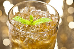 Mint-Julep cocktail Stock Photography