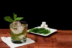 Mint Julep Cocktail Stock Photos