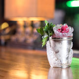Mint julep cocktail Royalty Free Stock Images
