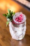 Mint julep cocktail Stock Photos