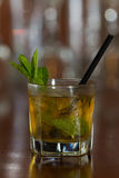 Mint julep cocktail Royalty Free Stock Photos