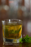 Mint julep cocktail Royalty Free Stock Photography