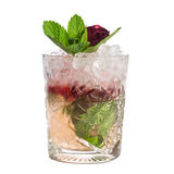 Mint julep cocktail Stock Image