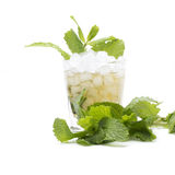 Mint julep isolated Stock Images