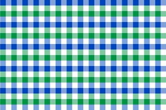 Mint and Light Blue Gingham pattern. Texture from rhombus/squares for - plaid, tablecloths, clothes, shirts, dresses, paper,. Bedding, blankets, quilts and stock illustration