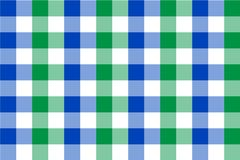 Mint and Light Blue Gingham pattern. Texture from rhombus/squares for - plaid, tablecloths, clothes, shirts, dresses, paper,. Bedding, blankets, quilts and royalty free illustration