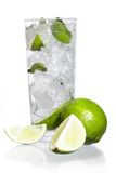 Mint, lime ice vodka Royalty Free Stock Image