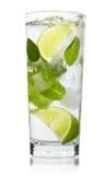 Mint, lime ice vodka Royalty Free Stock Photos