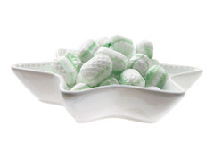 Mint Lollies Stock Photography