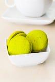 Mint marron cookies Stock Images