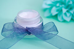 Mint/menthol based spa beauty products Stock Photo