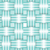 Mint ribbons card Royalty Free Stock Photo