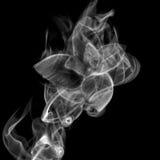Mint. Of smoke isolated on black background stock image