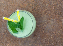 Mint smoothie Stock Image