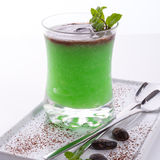 Mint sorbet Stock Photography