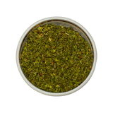 Mint spices. Mint from a set of 18 spices in the one style isolated on white Stock Images