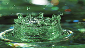 Mint Splash Stock Photo