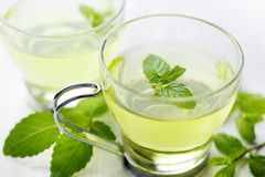 Mint tea stock images