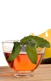 Mint and Tea Stock Photo