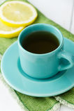 Mint tea with lemons Stock Photography