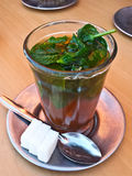 Mint tea, Marocco Stock Photography