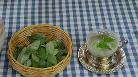 Mint tea prepare Stock Photos