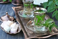 Mint tea. Stock Photography