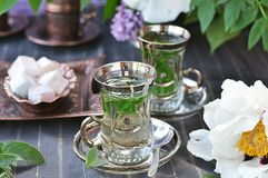 Mint tea. Royalty Free Stock Photography