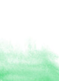 Mint watercolor background Stock Image