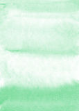 Mint watercolor background Royalty Free Stock Photos