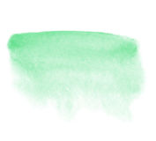 Mint watercolor background Stock Photo