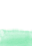 Mint watercolor background Stock Photos