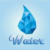 minten för is för flaskexponeringsglas vaggar den mineraliska vatten Royaltyfria Bilder