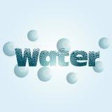 minten för is för flaskexponeringsglas vaggar den mineraliska vatten Arkivfoto