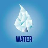 minten för is för flaskexponeringsglas vaggar den mineraliska vatten Royaltyfri Bild
