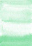 Mintkaramellvattenfärgbakgrund Royaltyfria Foton
