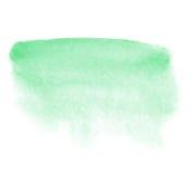 Mintkaramellvattenfärgbakgrund Arkivfoto