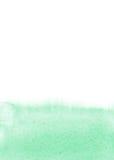 Mintkaramellvattenfärgbakgrund Arkivfoton