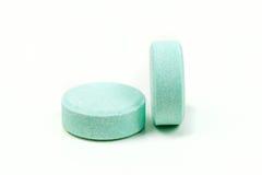 Minty антацидные таблетки Стоковые Фото